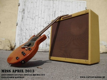 1958 Fender Bassman und 1959 Gibson Les Paul Special